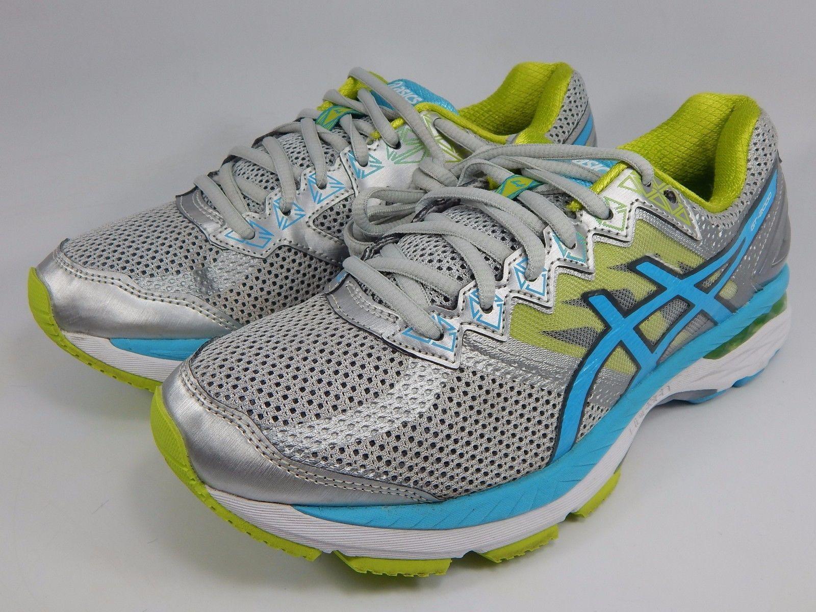 Asics GT 2000 v 4 Women's Running Shoes Sz US 8 D WIDE EU 39.5 Silver T657N (D)