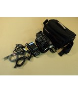 Panasonic Palmcorder Video Camera VHS-C 16x Optical Zoom PV-D407D V2 - $40.43