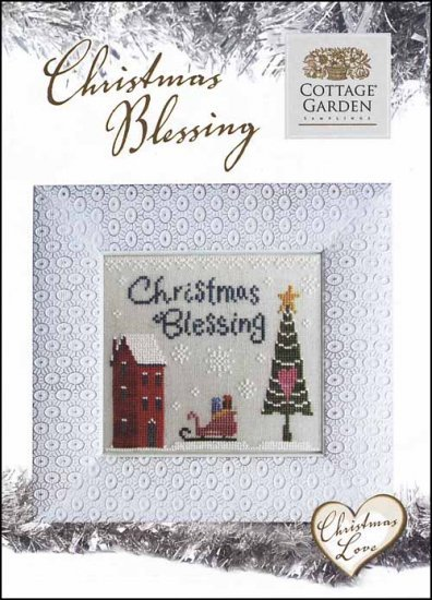 Christmas Love Christmas Blessing Cross Stitch Chart