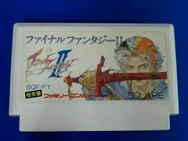 Nintendo Famicom Video Game Final Fantasy Ii 2 Cartridge Only Import Japan - $26.17