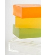 homemade glycerin soaps. set of 3 - $10.26