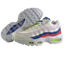 Nike Air Max 95 Size 7.5 Womens Shoes Panache Sail Artic Pink Racer Blue... - $132.95