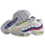 Nike Air Max 95 Size 7.5 Womens Shoes Panache Sail Artic Pink Racer Blue... - $132.95