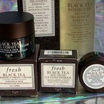 NIB Fresh Black Tea Age Delay Eye Serum Concentrate Overnight Firming Corset image 4