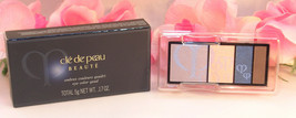 New Shiseido Cle De Peau Beaute Eye Shadow Quad Refill #202 Colors & Hig... - $34.99