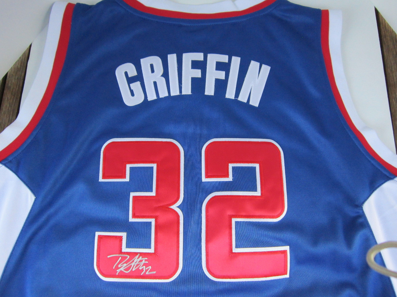 Blake Griffin Signed Clippers Blue Adidas Jersey Size 50