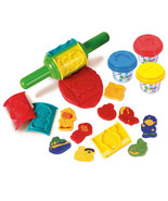 Playgo PLAY DOUGH JUMBO ROLLER (3 Colors of Play Dough Included) ~NEW~ - $17.29