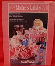 """Vintage MOTHERS LULLABY DOLL Crochet Patterns 13"""" MUSIC BOX DOLL PILLOW ... - $6.95"""