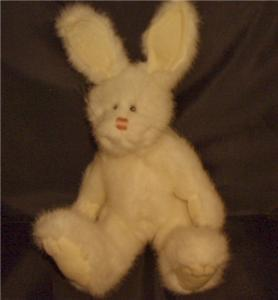 BOYDS COLLECTION - ARCHIVE SERIES WHITE RABBIT HANDMADE