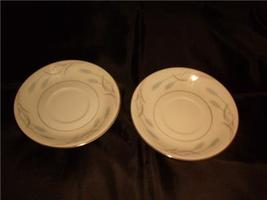 "VALMONT CHINA  ROYAL WHEAT SAUCERS SET OF TWO  5 1/2"" - $10.99"