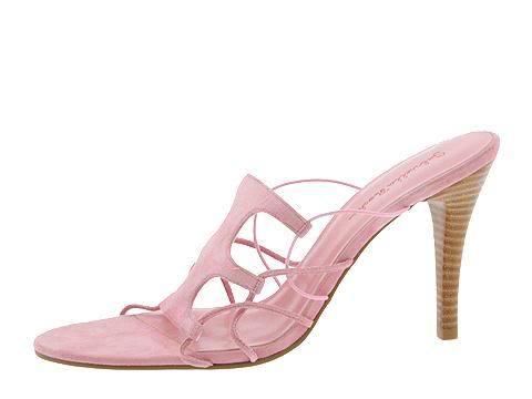 Pink Suede SZ 9.5 Gabriella Rocha Womens Shoes Dance Dress Slide Heels Pumps