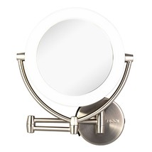 Lighted Makeup Vanity Mirror, 17.5 Inch Extended 1x/10x Magnifying  - $79.95