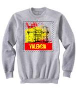 VALENCIA SPAIN - NEW COTTON GREY SWEATSHIRT - $31.88