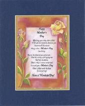 Poem for a Friend for Mother' Day - Happy Mother's Day Poem on 11 x 14 i... - $15.79
