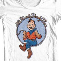 Howdy Doody Time t-shirt vintage children's tv show Free Shipping graphic tee image 1