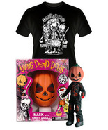 Living Dead Dolls Retro Halloween Set PUMPKIN Brand NEW! - $129.99