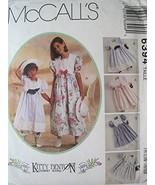 McCall's Sewing Pattern 6394 Girls' Dress, Pantaloons and Hatband Size 3 - $9.85
