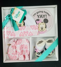 Disney Baby Minnie Mouse Take Me Home Baby Set 0-3 Months NEW - $12.60