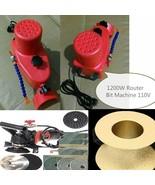 Wet Polisher & Router Bit Machine Polishing pad profile wheel stone gran... - $551.42