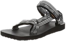 Teva Women's W Original Universal Sandal, Campo Black/White, 9 M US - $35.83