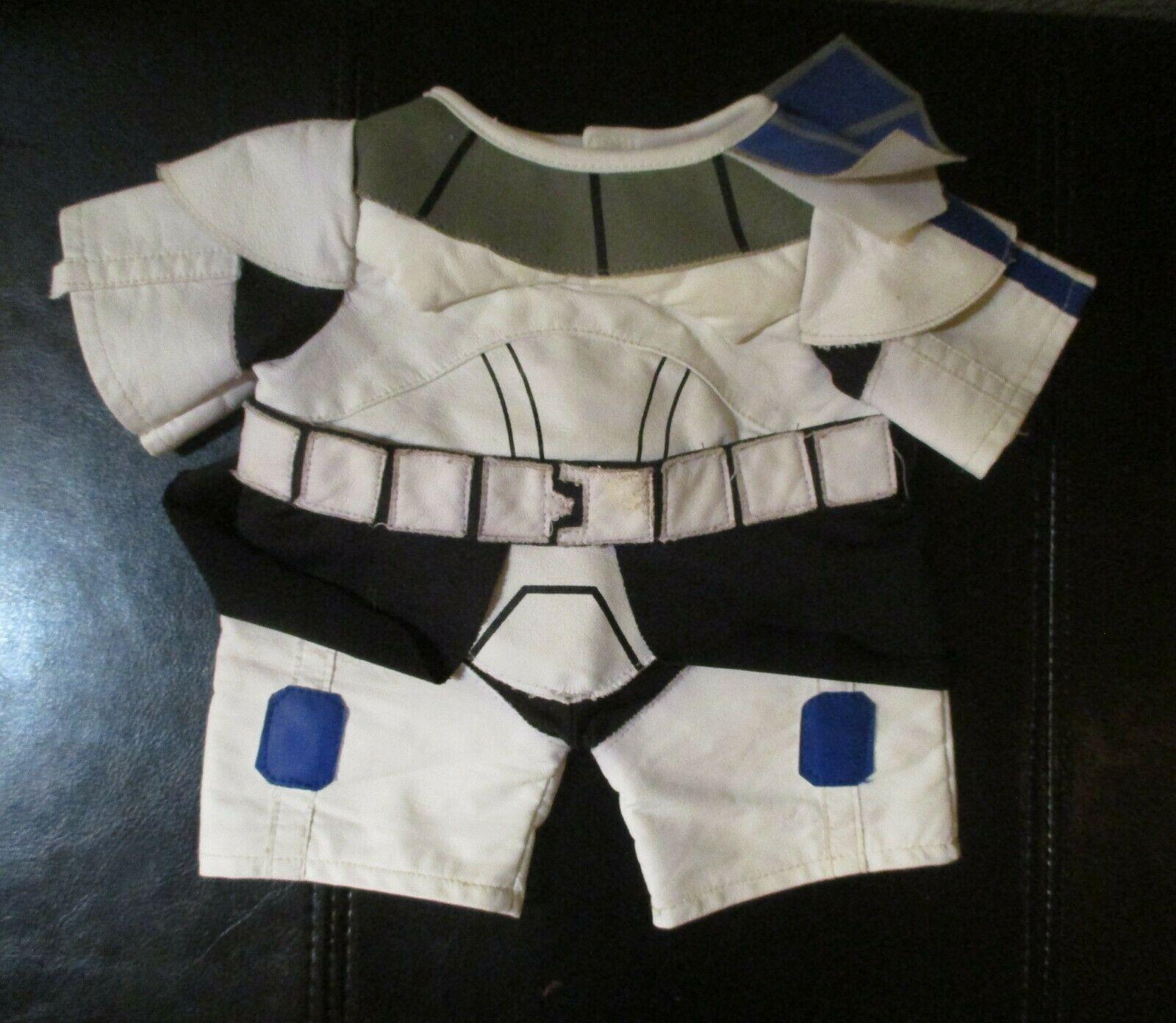 Build A Bear Workshop Star Wars Storm Trooper Outfit - $8.90