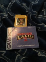 Donkey Kong Land 2 (Nintendo Game Boy, 1996) And Instructions No Box - $7.84