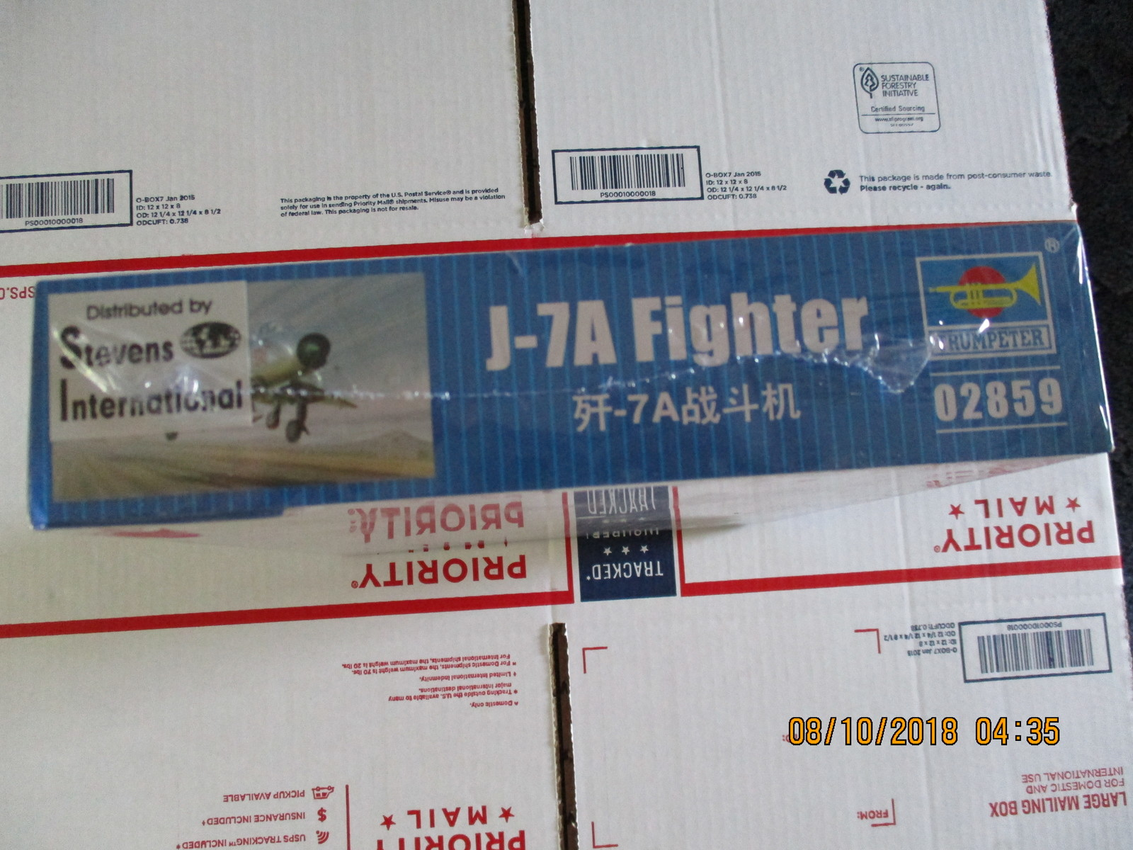 Trumpeter J-7A Chinese Fighter 1/48 scale