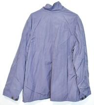 Carhartt Chore Women's Blue Dusk Flannel Lined Coat Jacket Size 2XL image 2