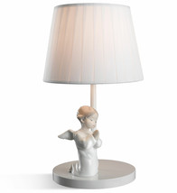 Lladro Porcelain Retired 01023136 Angel Praying Table Lamp Brand New in Box 3136 - $397.38