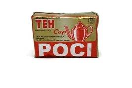 Teh Cap Poci Tea Jasmine Loose - Gold Wrap, 10 Gram (pack of 80) - $63.53