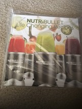 Brand New NUTRIBULLET-Life Changing Recipes Hard Cover BOOK - $9.00