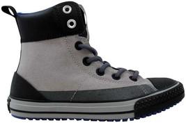 Converse Chuck Taylor Asphalt Boot Dolphin/Black 649995C Pre-School Size 12Y - $60.00