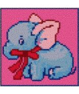 Latch Hook Rug Pattern Chart: BABY ELEPHANT PT - EMAIL2u - $5.50