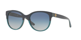 Tory Burch Sunglasses TY7096 15984L Navy/Turquoise /Hunter, Size 54-19-135 - $89.09