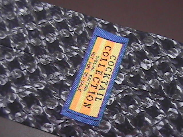 Stonehenge Cocktail Collection Neck Tie Limited Edition Not For Resale Greys