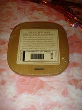 Longaberger 2002 Small Lid Sweetest Gift Warm Brown  - $15.99
