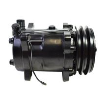 A-Team Performance Sanden 508 Style Black Clutch V-Belt A/C Compressor, Black image 6