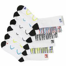 FILA Men's 6 Pack Classic Sport Athletic Gym Moisture Control Absorb Dry Socks image 11