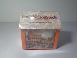 Linda Nelson Stocks STONEWALL VISIT New 100 Piece Miniature Jigsaw Puzzle - $48.51
