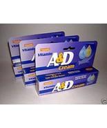 Natureplex VITAMIN A&D CREAM. For  DIAPER RASH FLAKY DRY SKIN 3pk - $19.42