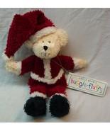"Boyds Uncle Bean's Huggle-Fluffs MR. SANTA BEAR 10"" Plush STUFFED Toy NEW - $19.80"