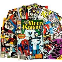 Moon Knight 13 Comic Book Lot VF Marvel Punisher Spider-Man Ghost Rider - $29.65
