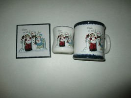Snowman Candle Holder, Mug, Hot Plate/Wall Plaque Christmas Winter Decor - $7.99