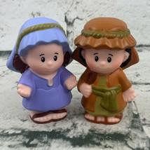 Fisher Price Little People Nativity Scene Replacement Mary Joseph Figure... - $13.86