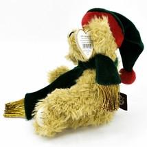1993 Ty Attic Treasures Spruce Holiday Christmas Teddy Bear Beanbag Plush Toy image 2