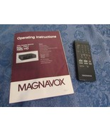 Magnavox Model VR9912 VHS HQ VCR Owners Operating Manual And Remote  - $19.81