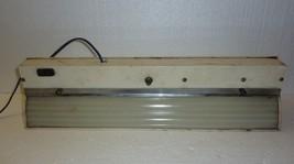 Vintage Bathroom Utility Long Light Fixture Working - $24.18