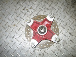 HONDA 2001 400 EX 2X4 LEFT FRONT HUB WITH BRAKE DISC   (BIN 46)  P-2349-... - $35.00