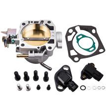 Throttle Body W/ Map Sensor 70mm for Honda Civic Coupe EX 1993-2001 DX 1993-2000 - $67.52