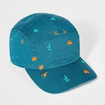 Kids' Embroidery Icon Baseball Hat - Cat & Jack Teal, Blue - $8.86